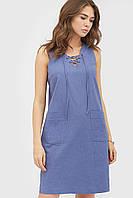 Жіноче повсякденне синє плаття Kristy