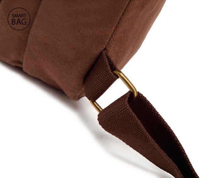 Небольшой рюкзак на одно плечо Augur | коричневый