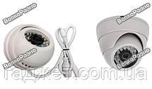 Камера видео наблюдения купольная / IP камера видео наблюдения, фото 3