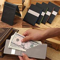 Мужской кошелек-зажим. Флип кошелек. Зажим для денег. Хит Продаж!, фото 1