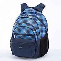 Рюкзак Dolly 511 ортопедический на два отдела карманы спереди и сзади 30 см х 40 см х 22 см