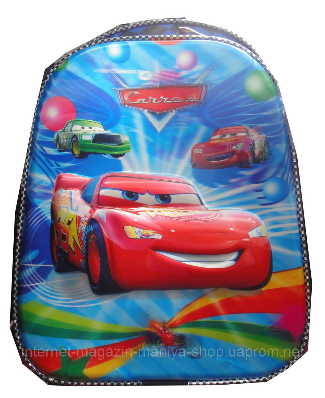 Рюкзак для мальчика тачки школа