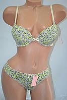 Комплект Lemila Push Up леопардовый чашка А Желтый, фото 1
