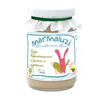 Пюре Рис с крольчатиной и цукини с 9 месяцев 190 г  Marmaluzi 1283205