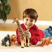 """Набор больших животных """"Дикие джунгли"""" от Learning Resources Jumbo Jungle Animals"""