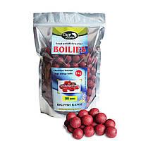 Бойлы донные CarpZone Instant Attractor Boilies Strawberries 20mm 1kg (Клубника)