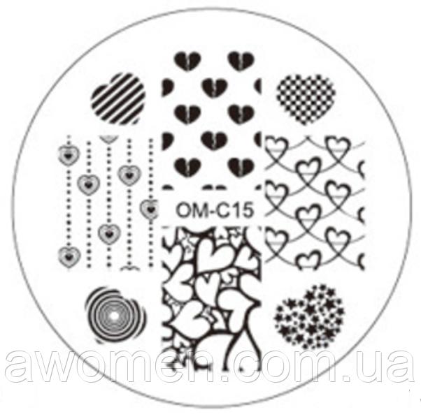Пластина для стемпинга OM-C15
