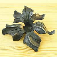Кованый элемент цветок 135х135мм арт. 52.130