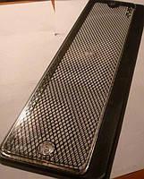 Рамка номера под стеклом с сеткой рисунок