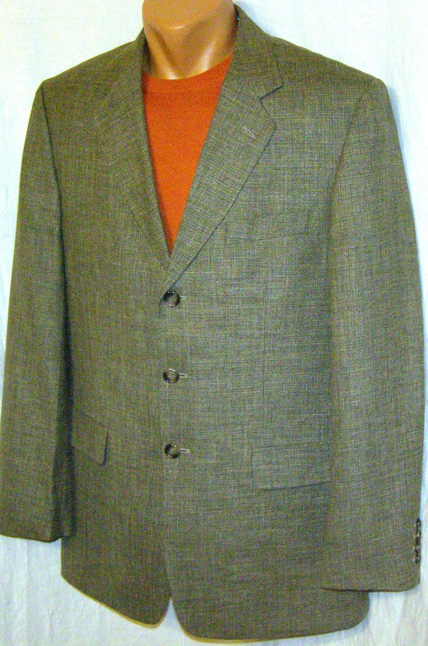 Лляний піджак STEEL (50-52)