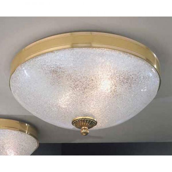 Потолочный светильник RECCAGNI ANGELO PL 4700/2 золото/белый
