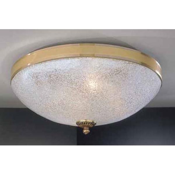 Потолочный светильник RECCAGNI ANGELO PL 4700/3 золото/белый