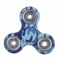 Спиннер с принтом Fidget spinner Classic Голубой камуфляж