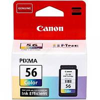 Картридж Canon CL-56 color Cyan Yellow Magenta совместим с принтером Canon PIXMA E404 E464 E484