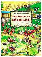 Детская книга Двусторонний Виммельбух Аня и Тим в городе/за городом, мини, дорожный вариант