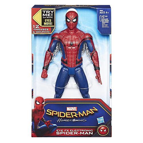 Большая интерактивная игрушка Человек-Паук 30 см (Звук) - Electronic Spider-Man, Eye fx, Hasbro