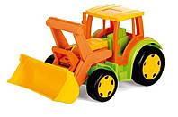 Трактор Гигант с ковшом (без картона) 66005 Wader
