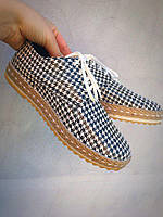 Туфли женские кожаные Italiano, гусиная лапка