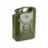 Металлическая канистра для ГСМ Сталь на 10 литров (79010)