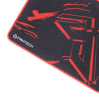 Игровой коврик FANTECH Sven MP25 Black для мыши матовая поверхность для игр геймера текстурированная ткань, фото 4