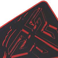 Игровой коврик FANTECH Sven MP25 Black для мыши матовая поверхность для игр геймера текстурированная ткань, фото 7