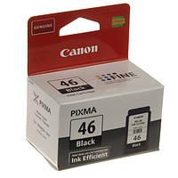 Картридж CANON PG-46 черный совместим с принтером Canon PIXMA E404 E464 E484 black