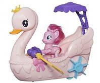 Лодка в виде лебедя с фигуркой пони Пинки Пай - игровой набор, My Little Pony