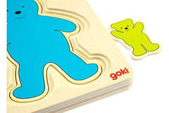 Goki Развивающая игра Разноцветные мишки 57884, фото 3