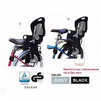Велокресло детское TILLY T-831 (BT-BCS-0003) до 22 кг, крепление сзади