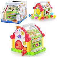 Развивающая логическая игрушка Теремок Joy Toy 9196 HN, КК