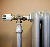Краны для радиаторов с термоголовками