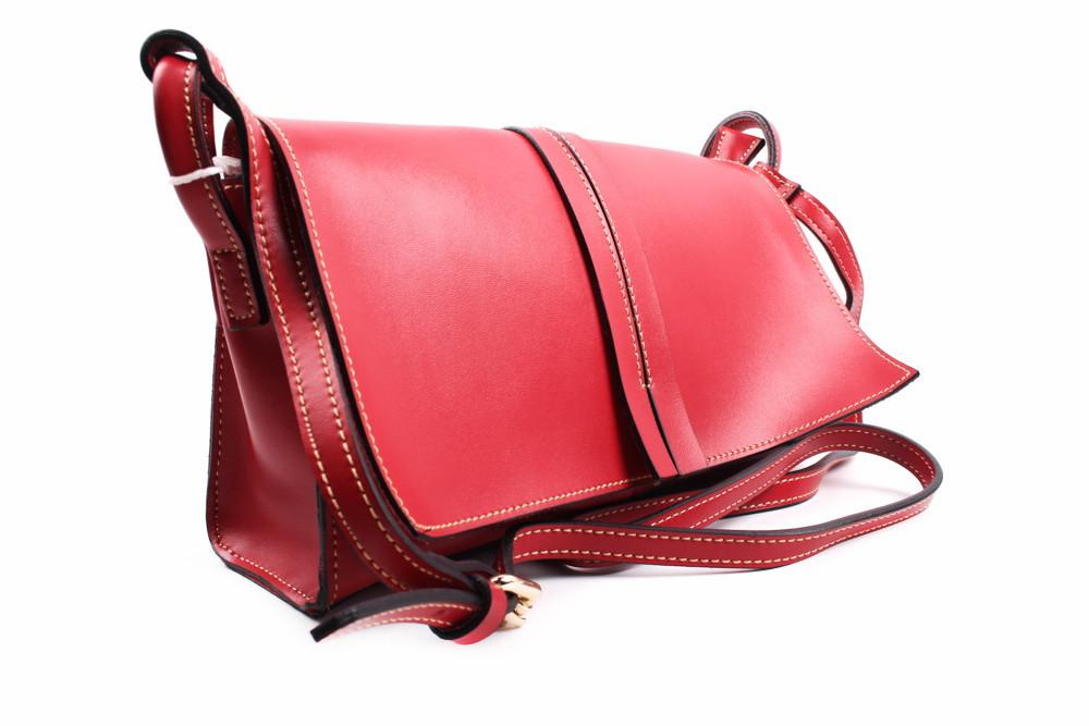 Стильная сумка GEBISLU эко-кожа, цвет красный, прямоугольная, маленькая