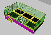 Батутная арена 7,5х4х3