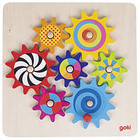 Goki Развивающая игра Познавательные шестеренки 58530
