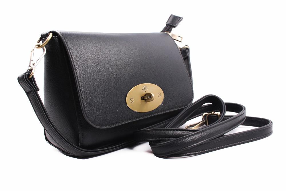 Элегантная сумка эко-кожа, цвет черный, прямоугольная, маленькая