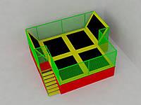 Батутная арена 6х5х3, фото 1