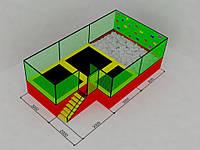 Батутная арена 9х5х3, фото 1
