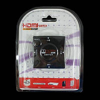 Свитчер разветвитель переключатель HDMI на три порта 1080P Switch