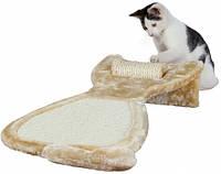 43113 Trixie Когтеточка с ковриком и валиком, 34х67 см