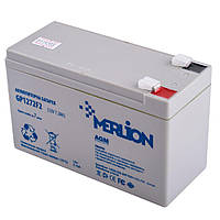 GP1272F2 12 V 7,2 Ah MERLION, White Q10