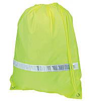 Рюкзак-мешок Premium с отражающей полосой, Зеленое яблоко / su 19550053