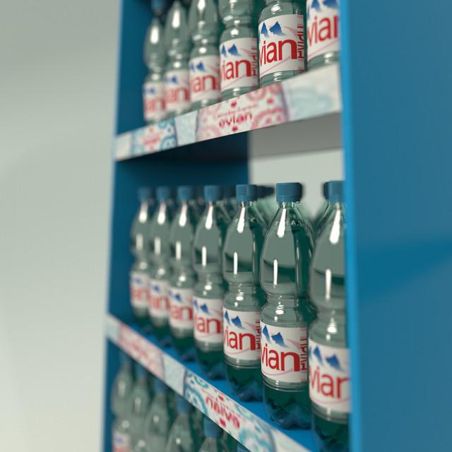 Рекламные стойки воды