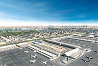 Самый большой аэропорт в мире откроется в июне в Дубае