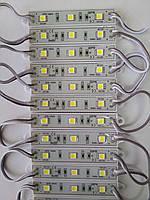 Світлодіодний модуль-кластер SMD 5050 білий, 3 LED