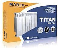 Биметаллический радиатор TITAN 500/96 TM MAREK (Польша)