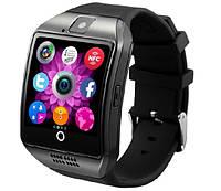 Умные наручные часы Q18 Apro Black. Смарт часы с сим-картой