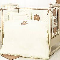 """Детское постельное в кроватку набор """"Кроха"""", фото 1"""