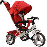 *Детский трёхколёсный велосипед Tilly Trike колеса на пене (White/Red) арт. 343