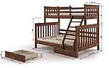 """Ліжко """"Скандинавія"""", фото 2"""