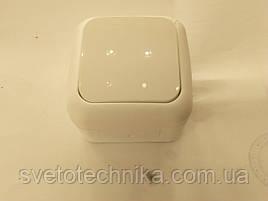 Выключатель Palmiye одноклавишный IP64  (кремового цвета)